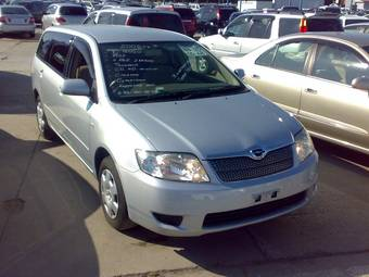 2006 toyota corolla fielder photos 1 5 gasoline ff automatic for sale. Black Bedroom Furniture Sets. Home Design Ideas