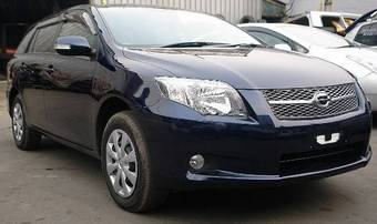2007 Toyota Corolla Fielder Pictures