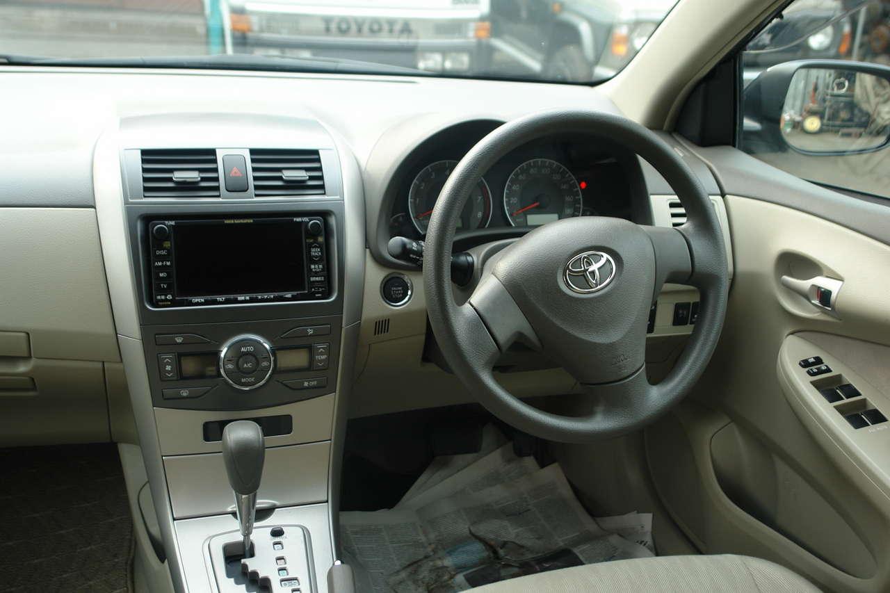 2007 Toyota Corolla Fielder Photos 1500cc Gasoline Ff