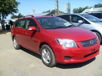 2008 Toyota Corolla Fielder Pictures