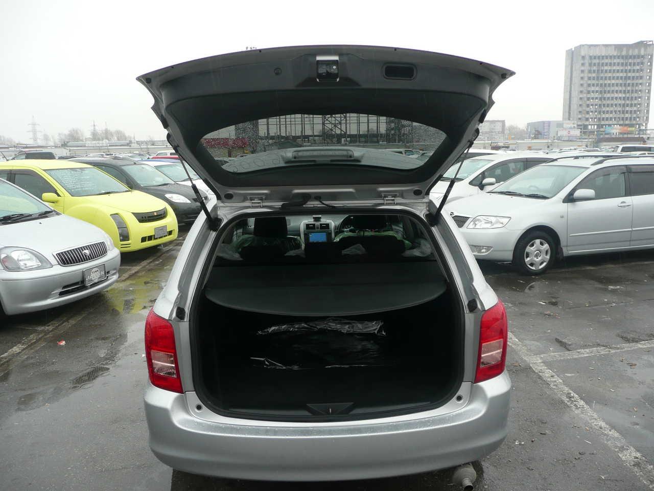 2008 Toyota Corolla Fielder Images 1800cc Gasoline