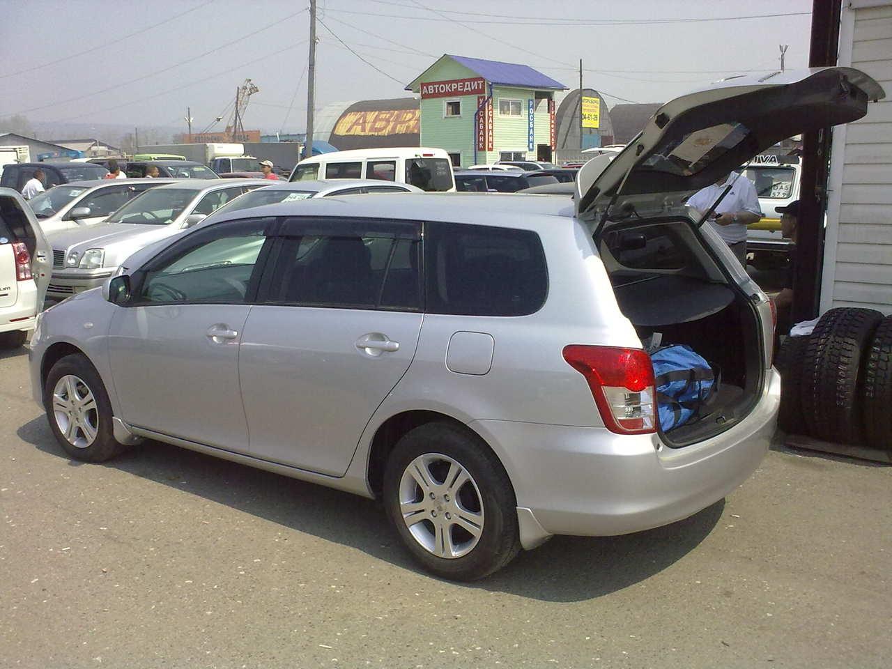 2009 Toyota Corolla Fielder Pictures 1500cc Gasoline Ff Automatic For Sale