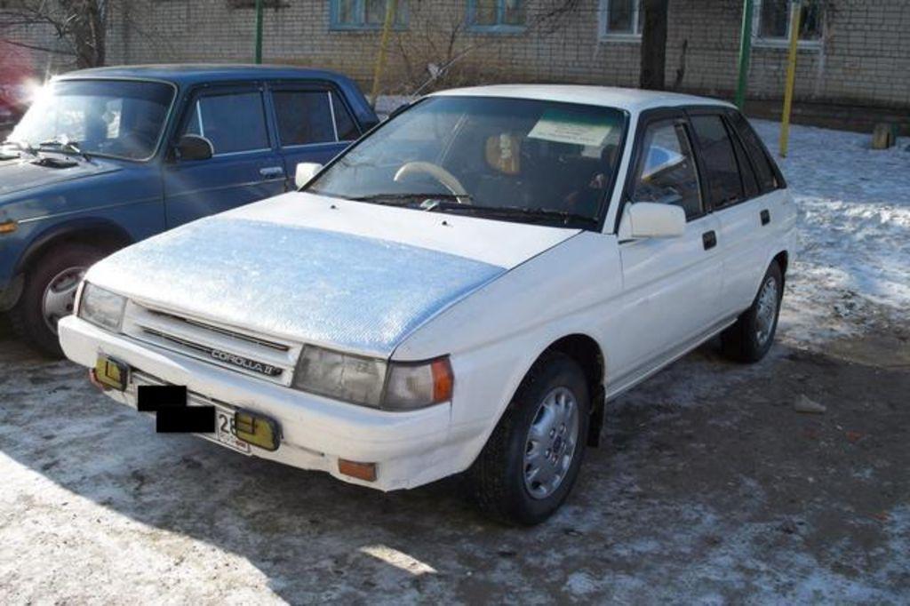 Modified Toyota Corolla 1990 1990 Toyota Corolla
