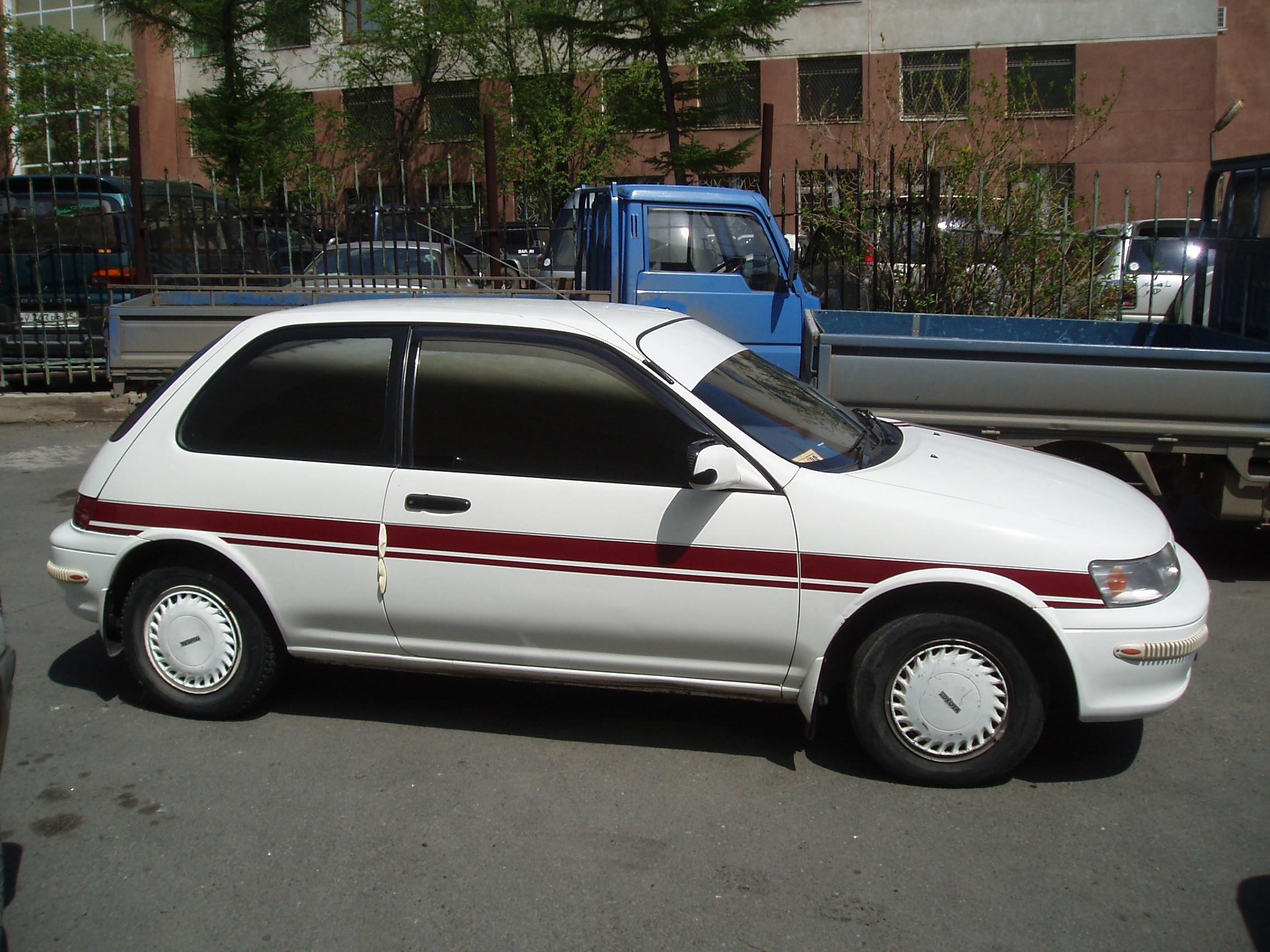 1993 Toyota Corolla Ii Pictures 1331cc Gasoline Ff