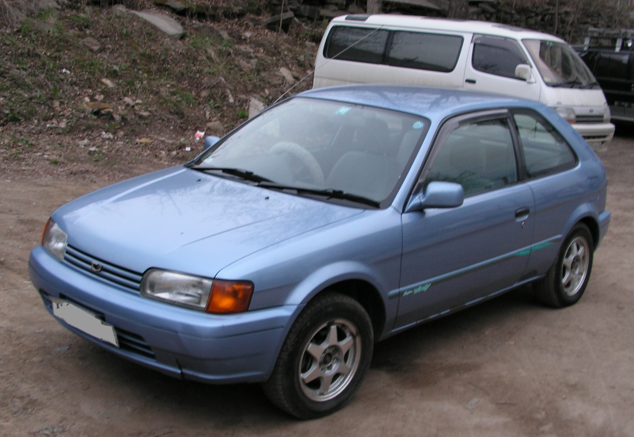 1996 toyota corolla ii pictures 1300cc gasoline ff automatic for sale. Black Bedroom Furniture Sets. Home Design Ideas