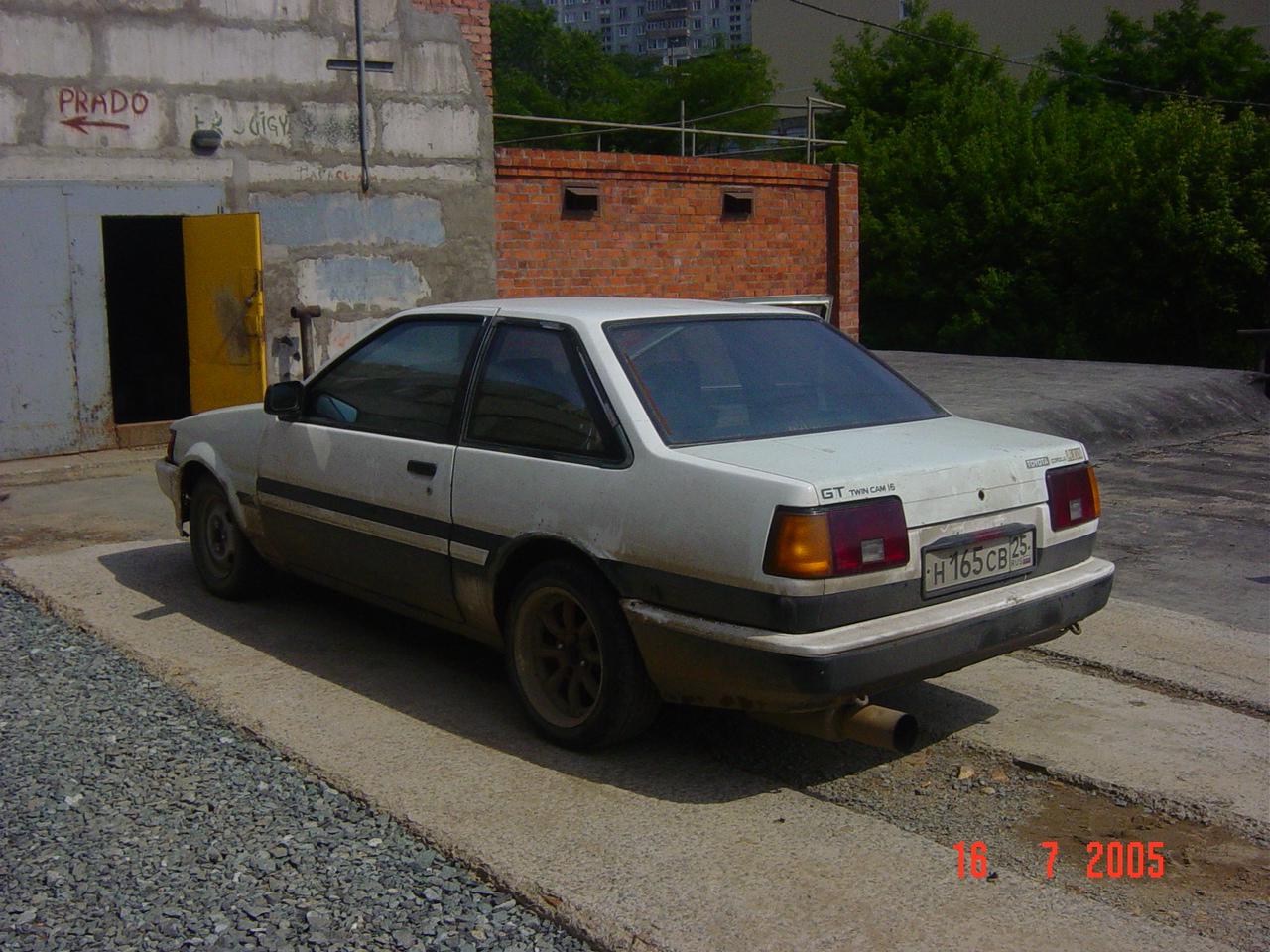 Kelebihan Toyota Corolla 1983 Spesifikasi