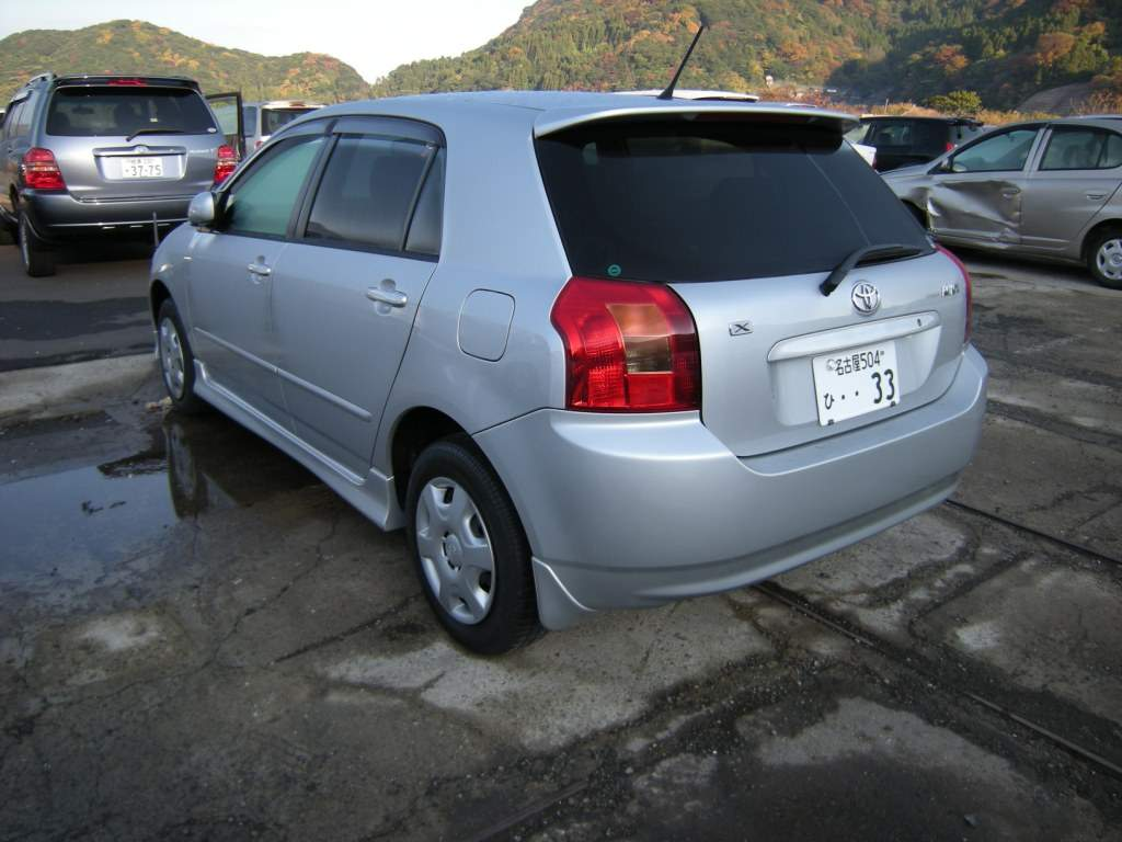 2002 Toyota Corolla Runx For Sale 1500cc Gasoline Ff