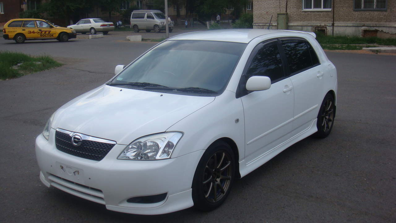 runx toyota 2003 corolla cars manual engine enlarge gearbox wheels transmission directory
