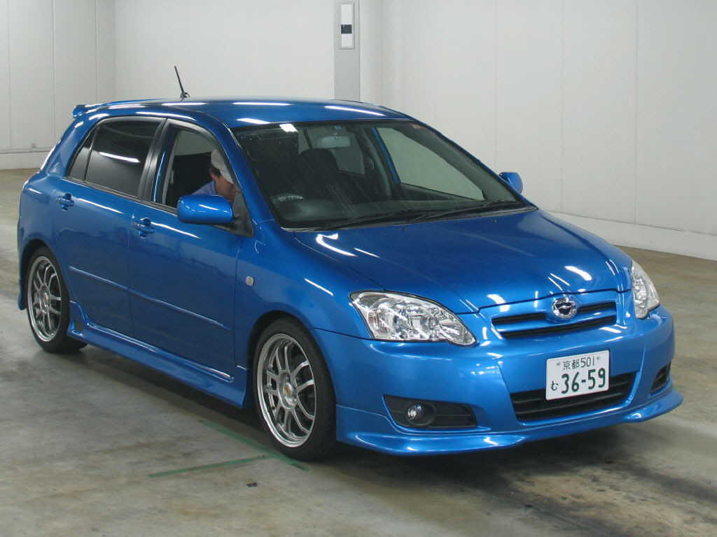 Photo #1 - Enlarge photo 1024x768 2004 Toyota Corolla RUNX Photos
