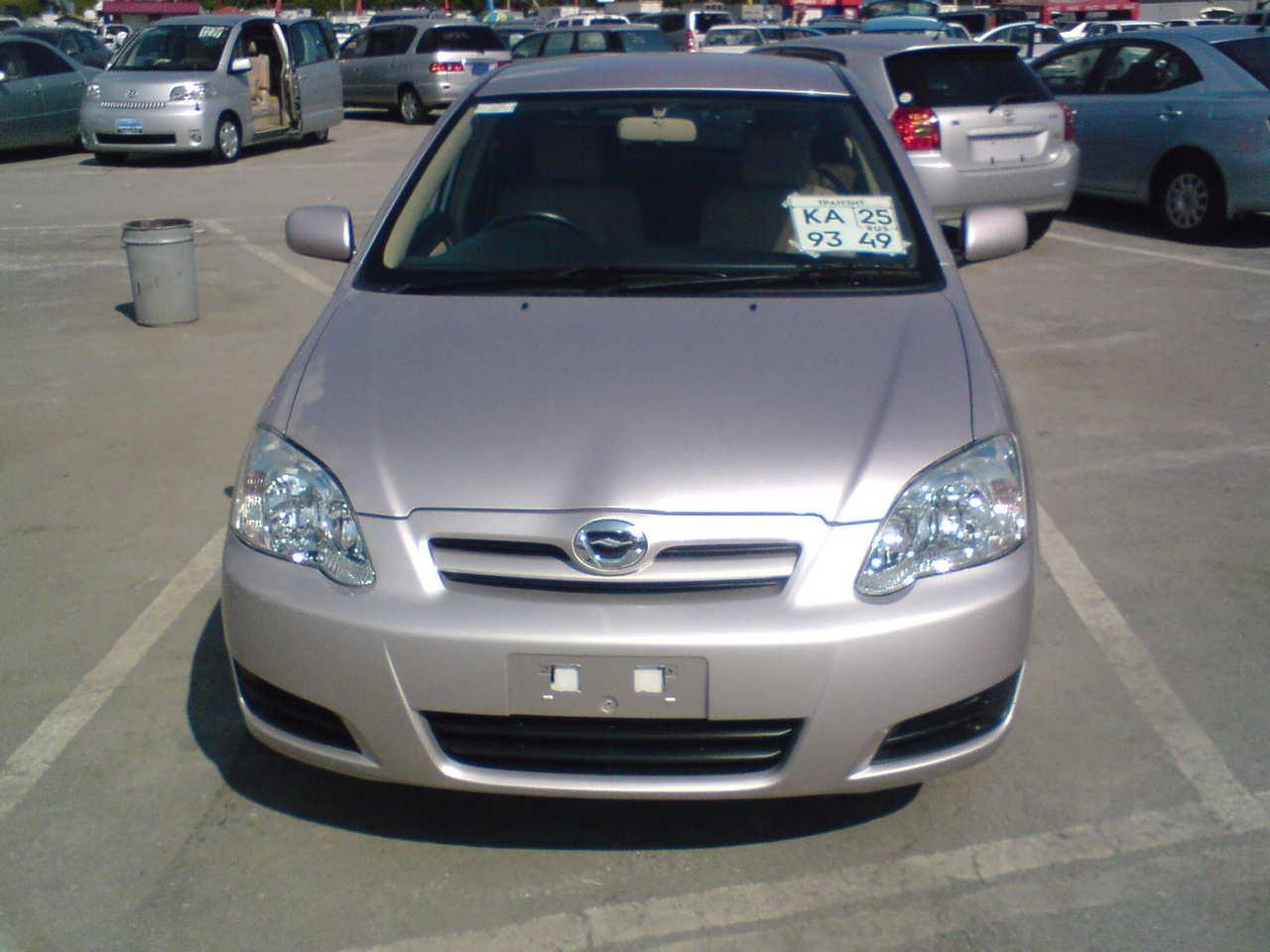 2004 Toyota Corolla Runx Photos 1 5 Gasoline Ff