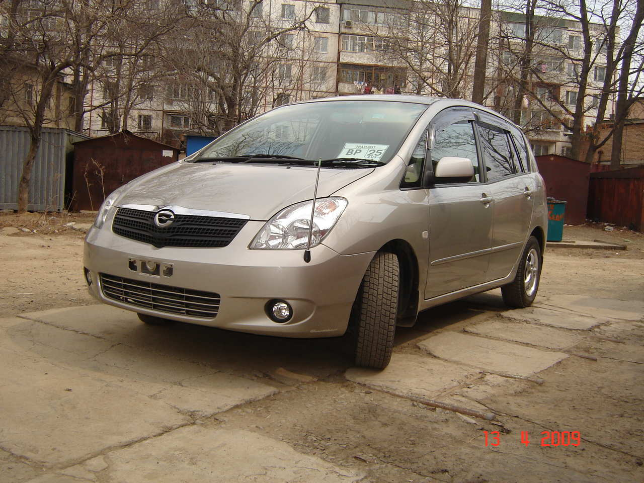 2002 toyota corolla spacio pictures gasoline ff automatic for sale. Black Bedroom Furniture Sets. Home Design Ideas