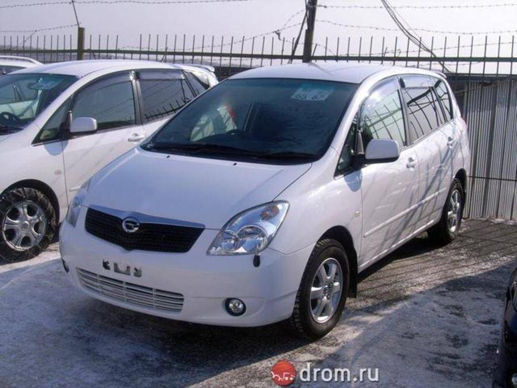 2003 Toyota Corolla Spacio Pictures 1500cc Gasoline Ff Automatic For Sale