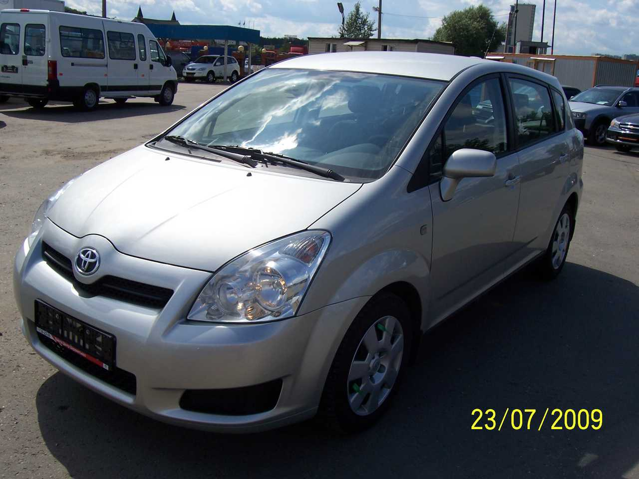 2008 toyota corolla verso pictures gasoline ff manual for sale. Black Bedroom Furniture Sets. Home Design Ideas