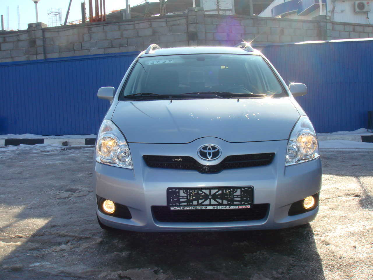 used 2008 toyota corolla verso photos 1800cc gasoline ff automatic for sale. Black Bedroom Furniture Sets. Home Design Ideas