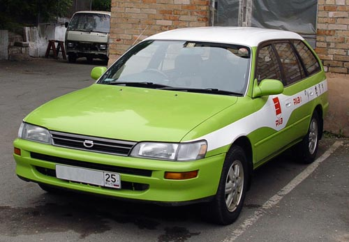 1995 toyota corolla wagon pictures 1587cc gasoline automatic for sale. Black Bedroom Furniture Sets. Home Design Ideas
