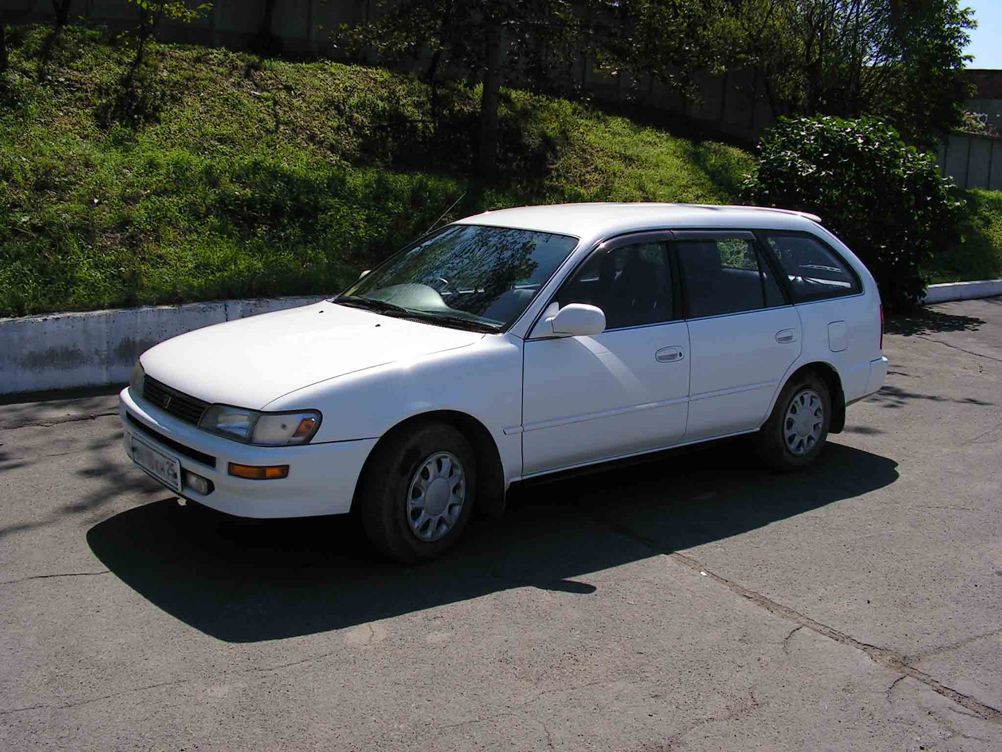Check Engine Light Toyota Camry >> 1995 Toyota Corolla Wagon Pictures, 1498cc., Gasoline, FF ...