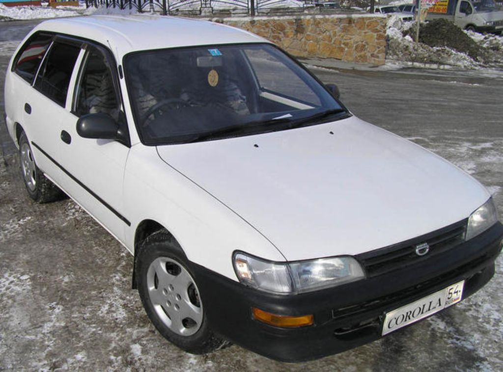 1996 toyota corolla wagon pictures for sale. Black Bedroom Furniture Sets. Home Design Ideas