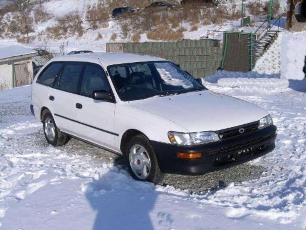 2001 Toyota Corolla Wagon Specs Mpg Towing Capacity Size Photos