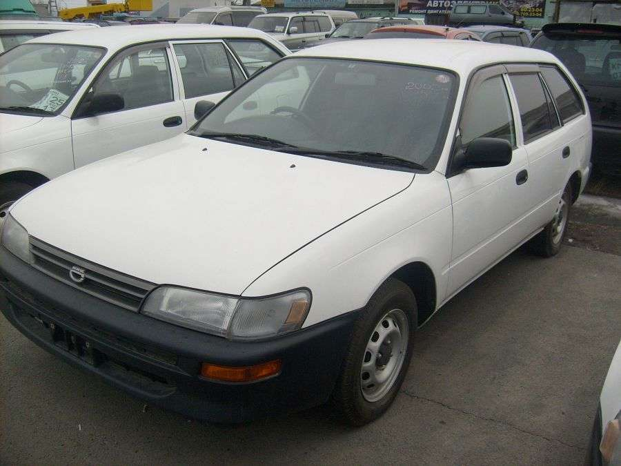 2002 toyota corolla wagon photos 1 5 gasoline automatic for sale. Black Bedroom Furniture Sets. Home Design Ideas
