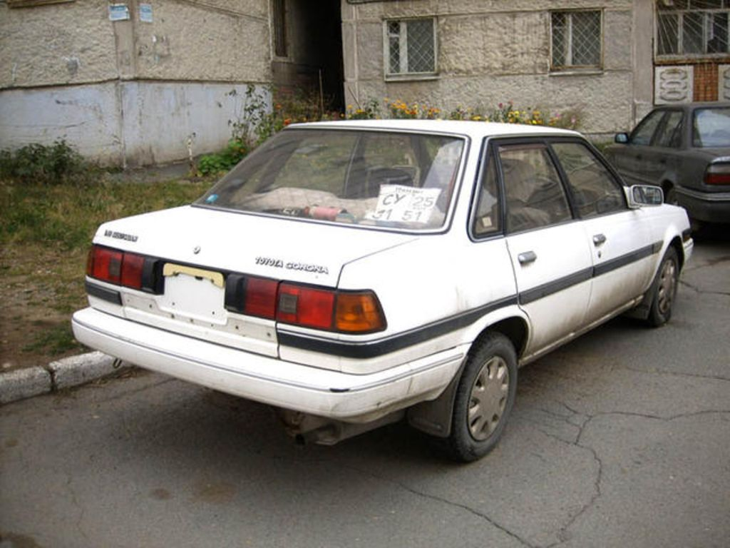 1987 Toyota Corona Pictures For Sale