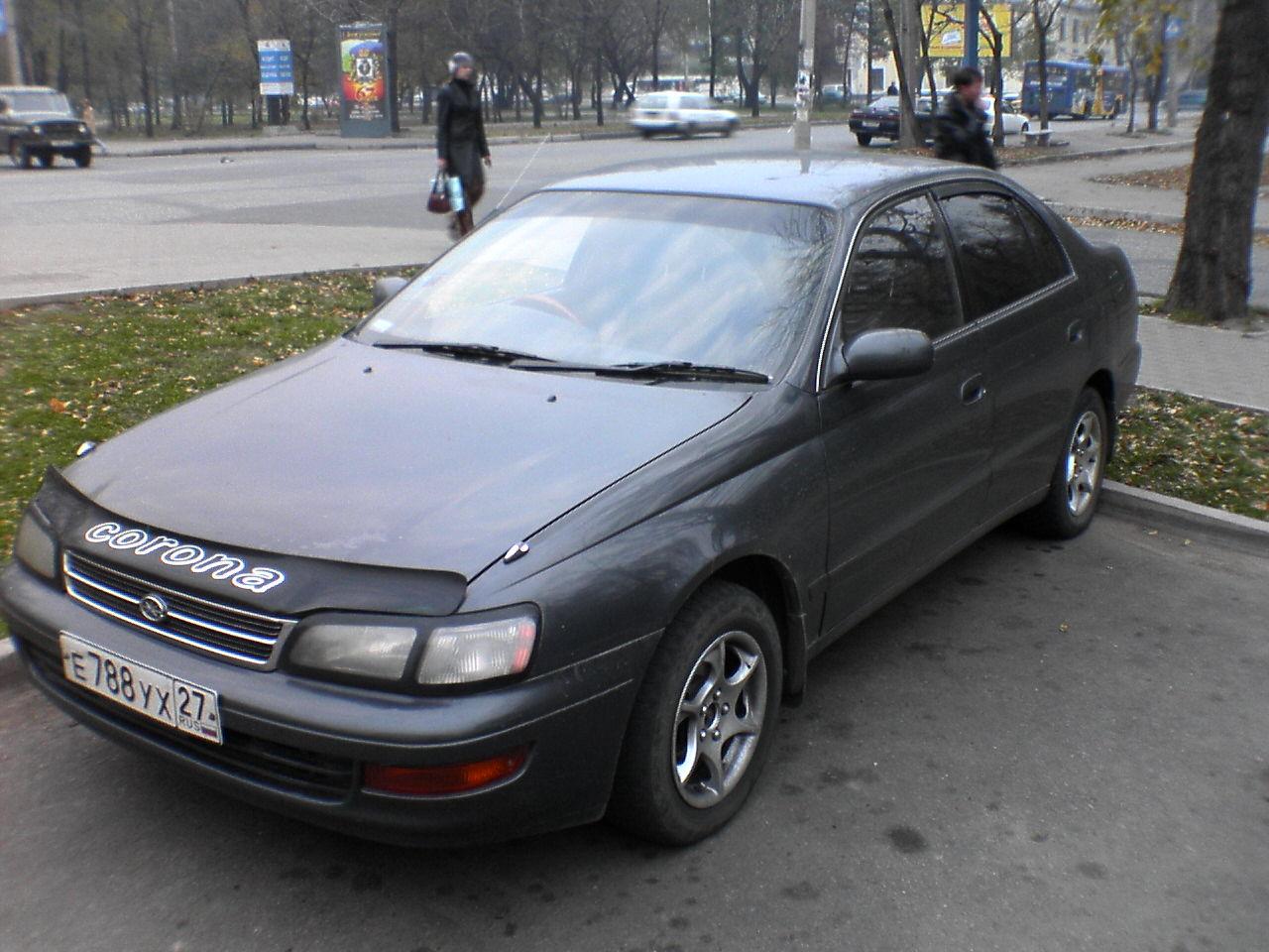 1992 Toyota Corona Pictures  1600cc   Gasoline  Ff