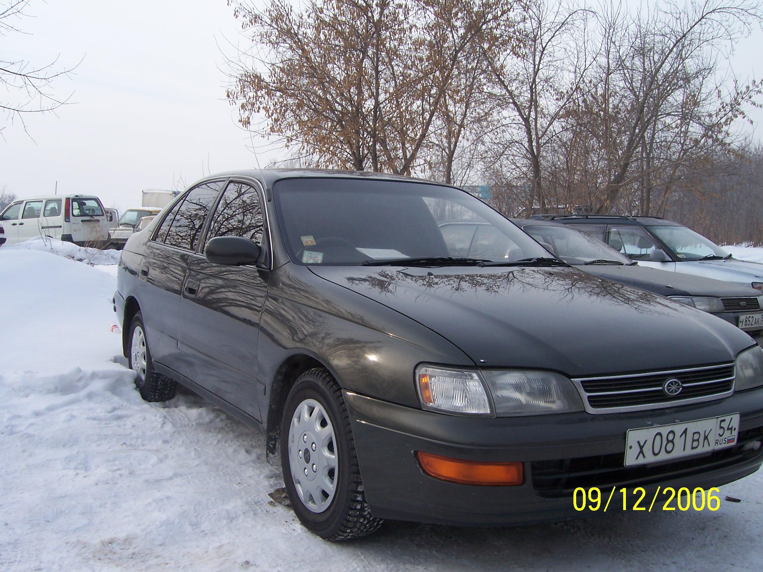 1992 Toyota Corona Photos