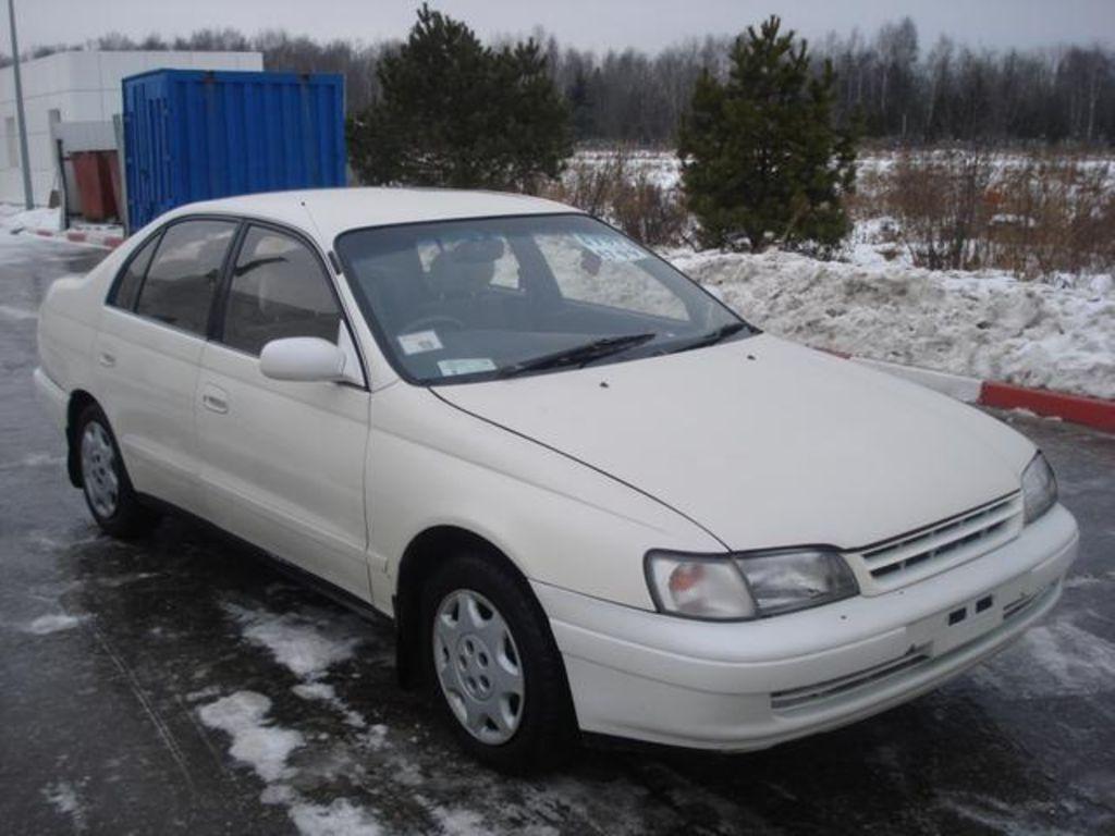 1993 Toyota Corona Pictures