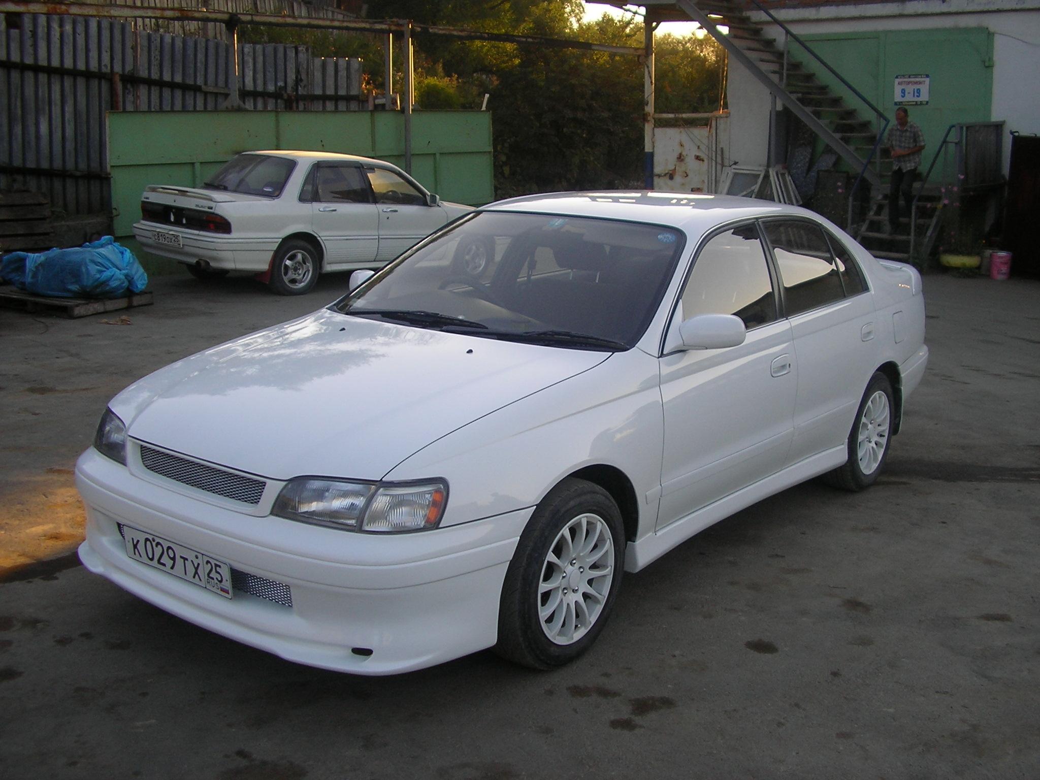 1994 Toyota Corona Pictures  1800cc   Gasoline  Ff
