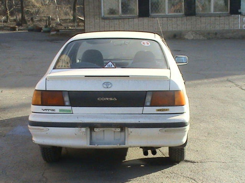 Toyota Corsa Orig