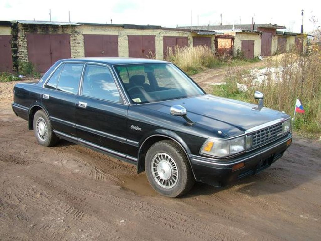 1990 Toyota Crown Pictures 1988cc Gasoline Fr Or Rr