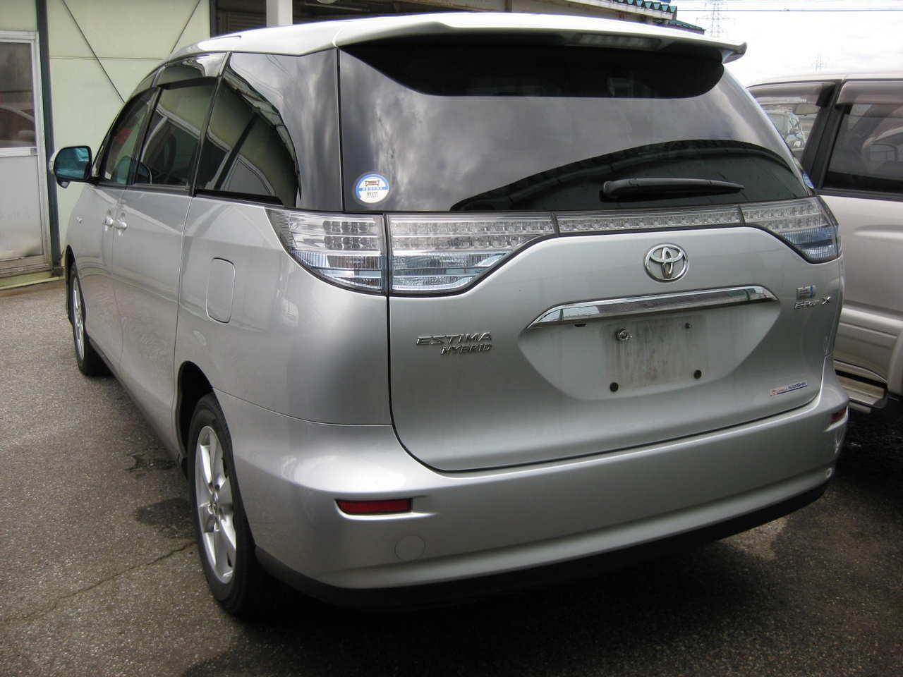 2008 Toyota Estima Hybrid Images