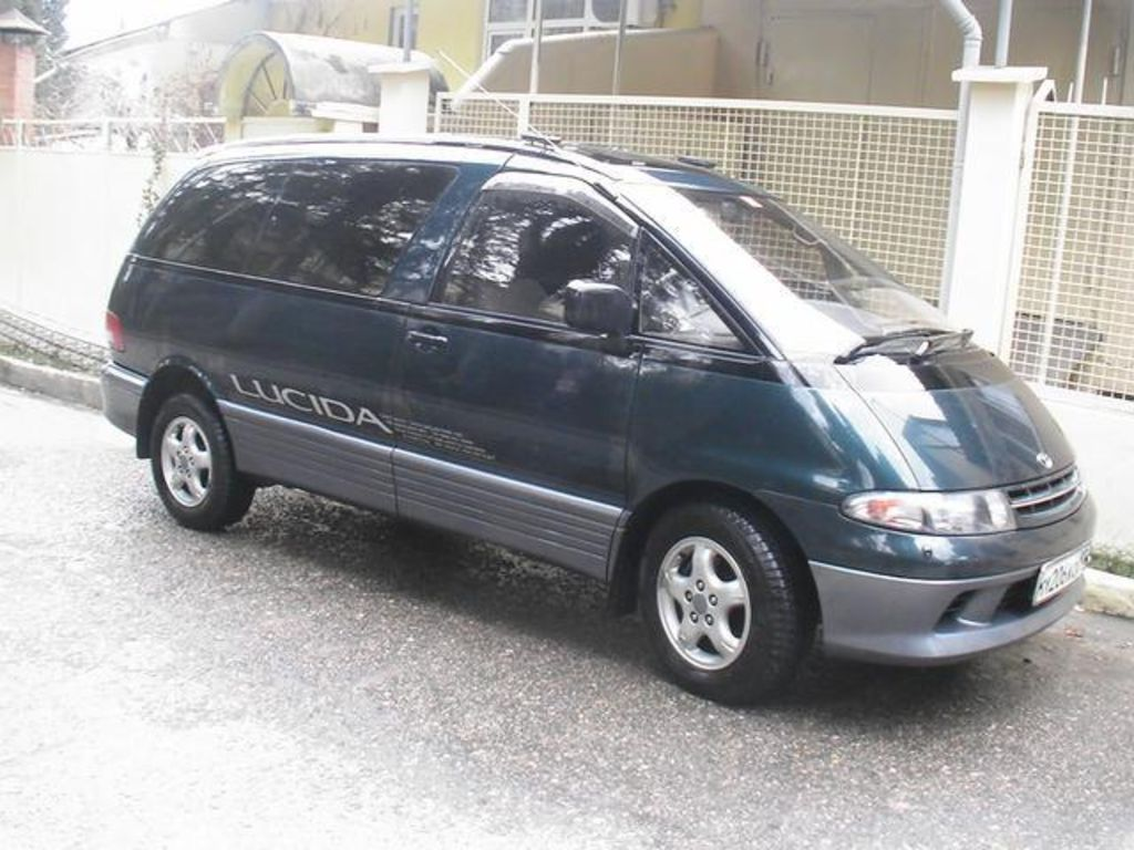1994 Toyota Estima Lucida Pictures For Sale