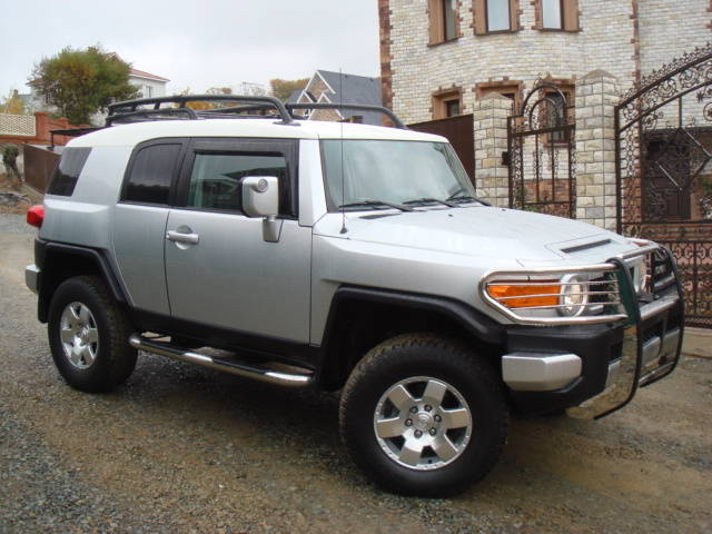 2006 toyota fj cruiser for sale 4000cc gasoline. Black Bedroom Furniture Sets. Home Design Ideas