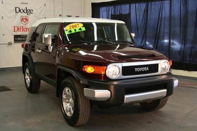 2007 toyota fj cruiser for sale. Black Bedroom Furniture Sets. Home Design Ideas