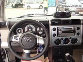 2008 toyota fj cruiser pictures gasoline automatic for sale. Black Bedroom Furniture Sets. Home Design Ideas