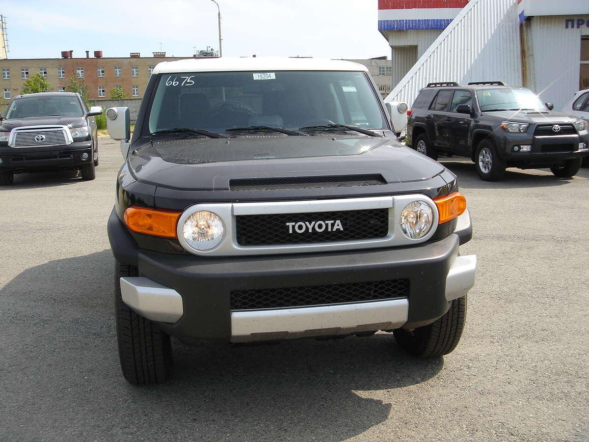 2012 Toyota Fj Cruiser Pictures 4 0l Gasoline