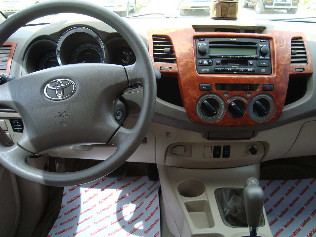 2008 Toyota Fortuner Wallpapers 2 7l Gasoline Automatic For Sale