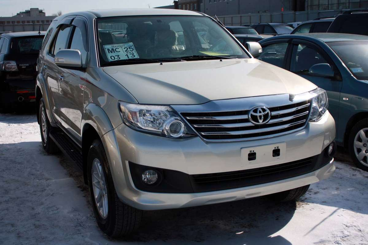 Toyota Fortuner For Sale Used Cars On Autodealer