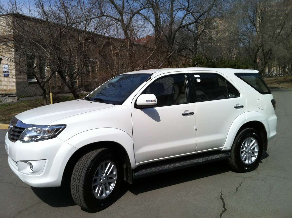 2012 Toyota Fortuner Photos 2 7 Gasoline Automatic For Sale