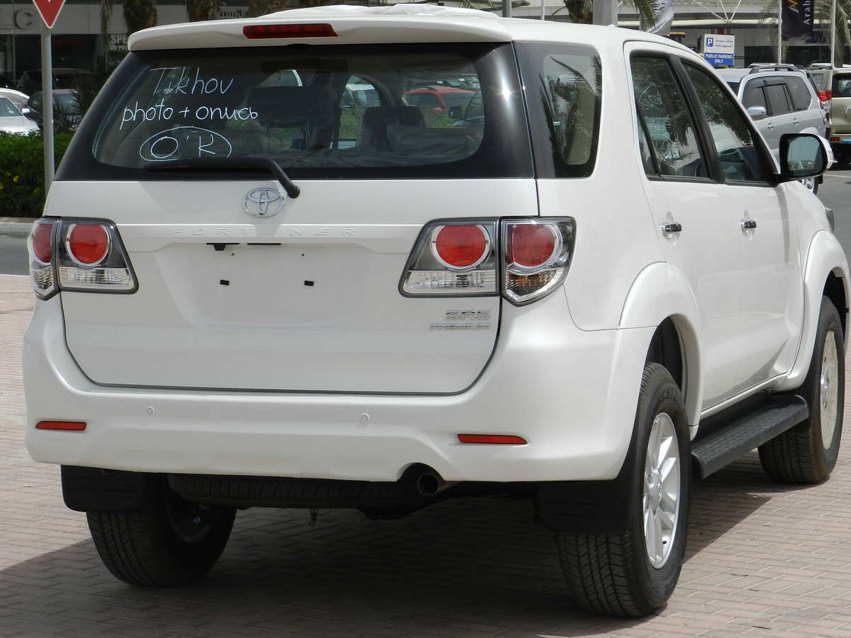 2012 Toyota Fortuner For Sale 2700cc Gasoline Automatic For Sale
