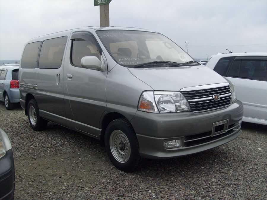 2002 Toyota Granvia Pictures, 3.4l., Gasoline, Automatic For Sale