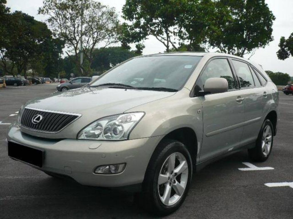 Used Lexus Rx >> 2003 Toyota Harrier Pictures For Sale