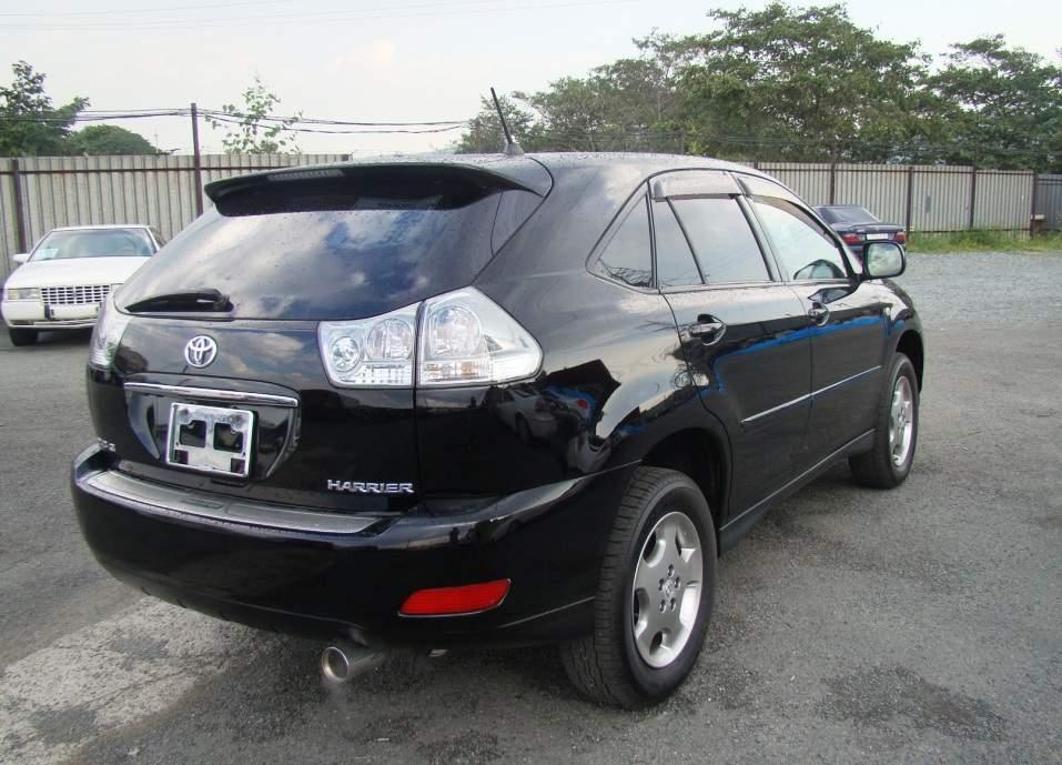 2005 Toyota Harrier Pictures 24l Gasoline FF