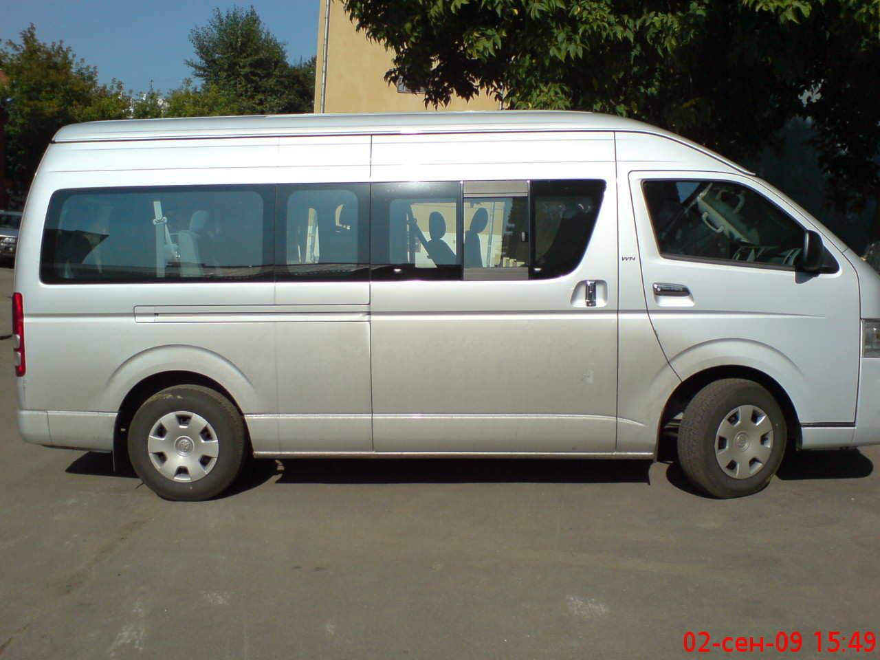 Beautiful 2003 Toyota Hiace Van 5door 36 Rhd Japanese Used Cars  Buy Used Cars