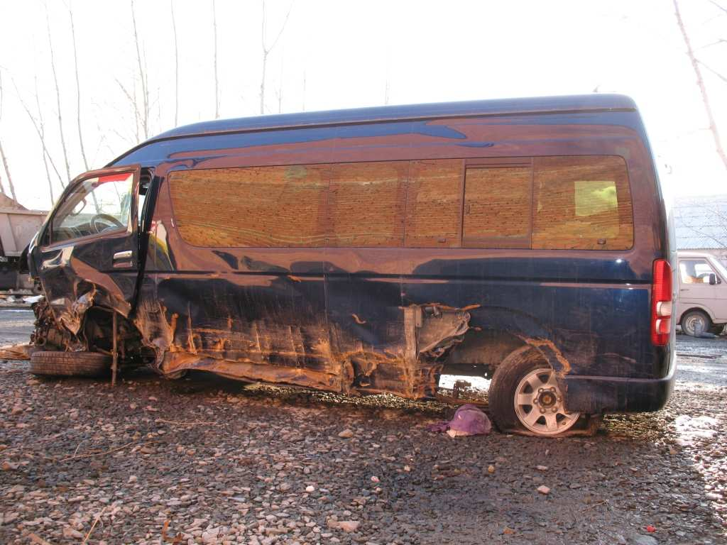 2008 Toyota Hiace Pictures