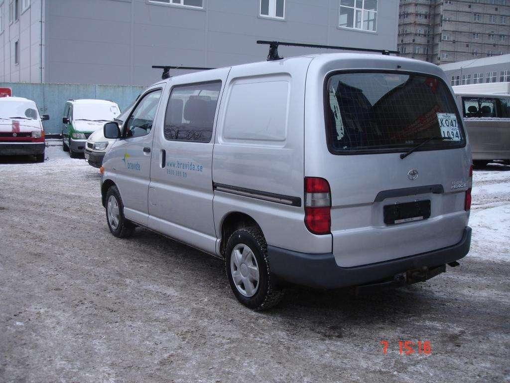 2003 toyota hiace van for sale 2500cc diesel fr or rr manual for sale. Black Bedroom Furniture Sets. Home Design Ideas