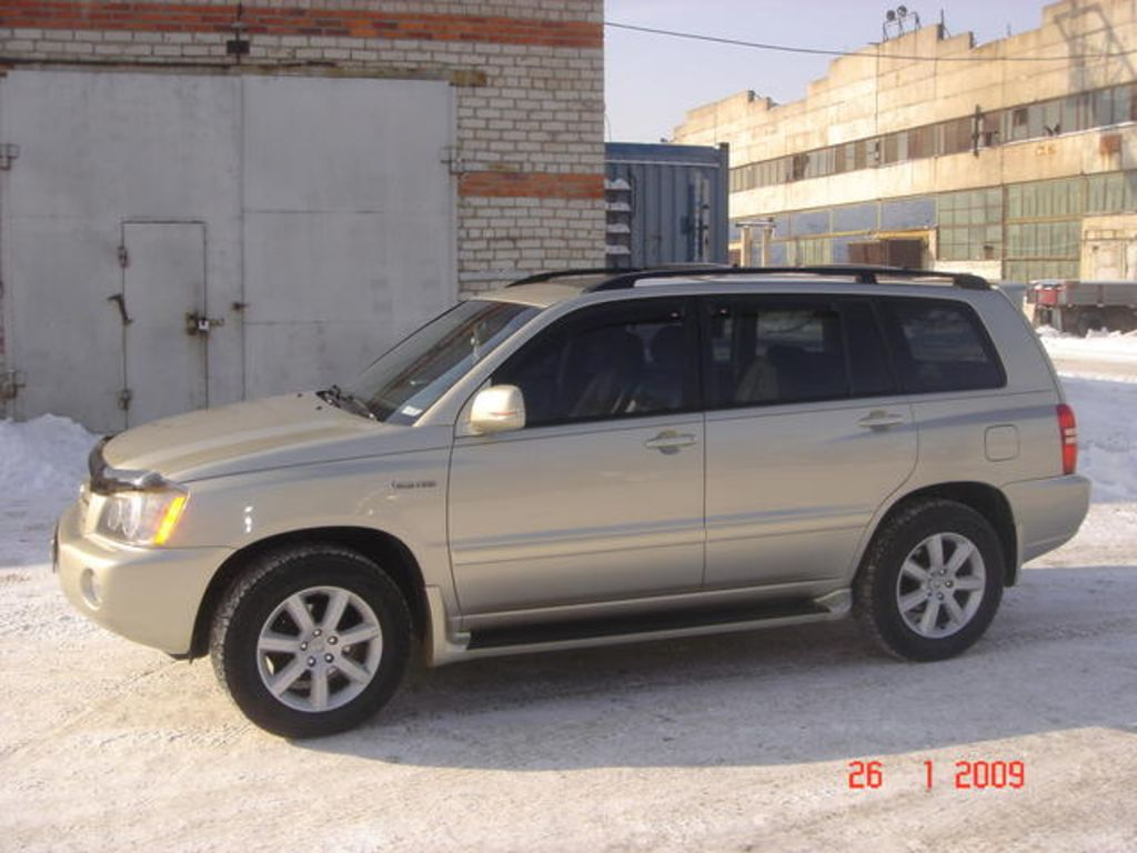 2002 Toyota highlander transmission problems