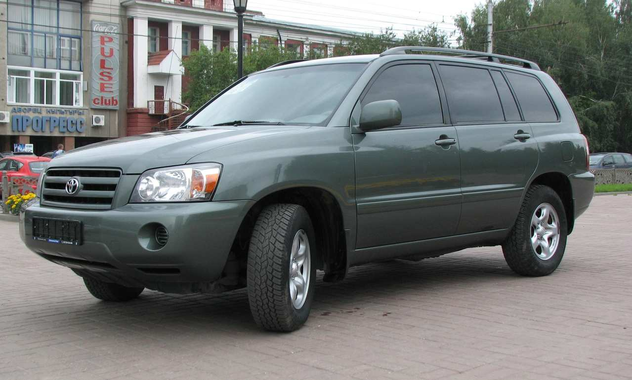 used 2004 toyota highlander photos 2400cc gasoline ff automatic for sale. Black Bedroom Furniture Sets. Home Design Ideas
