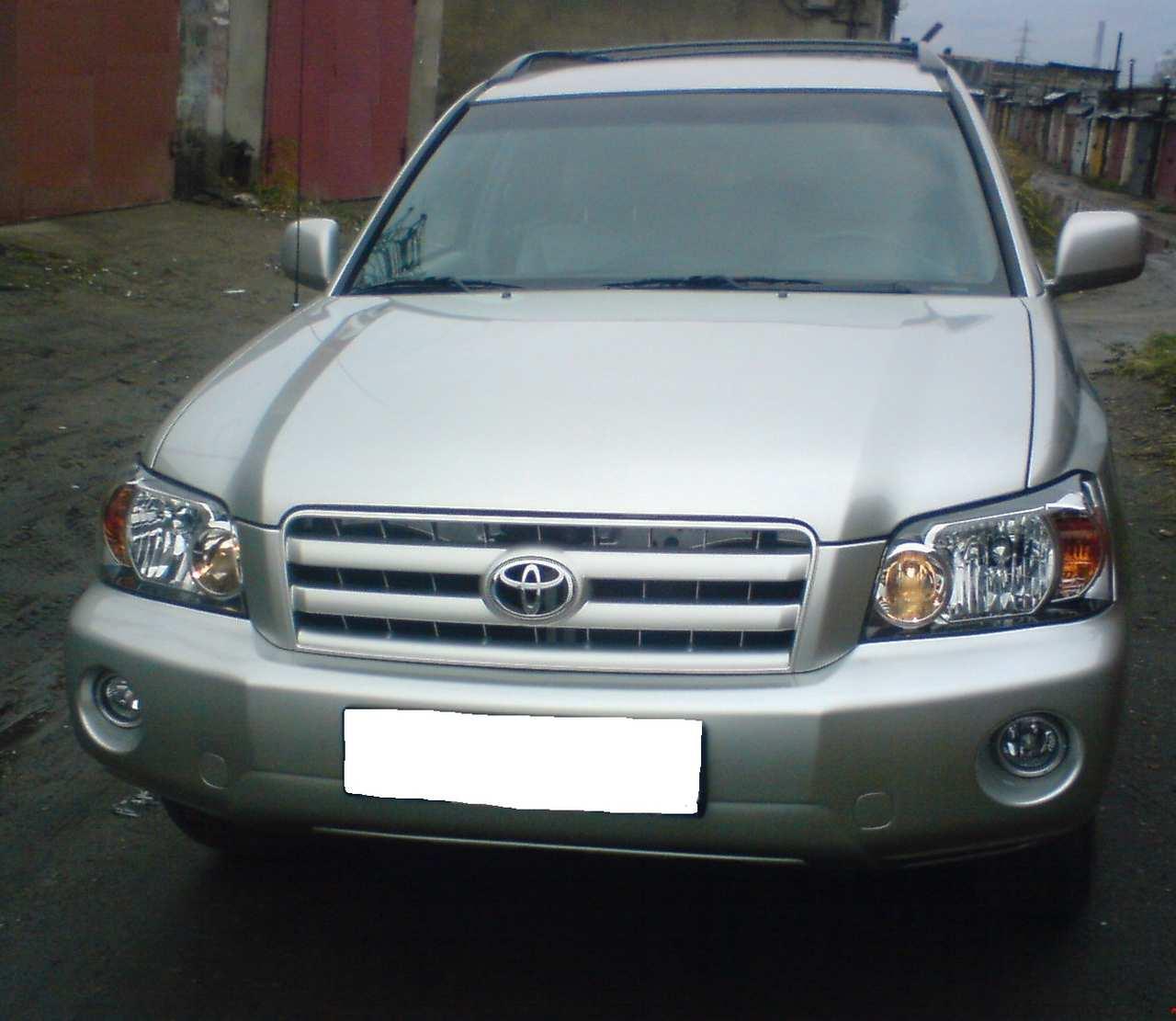 Toyota Highlander Reviews: 2005 Toyota Highlander Pictures, Gasoline, FF, Automatic