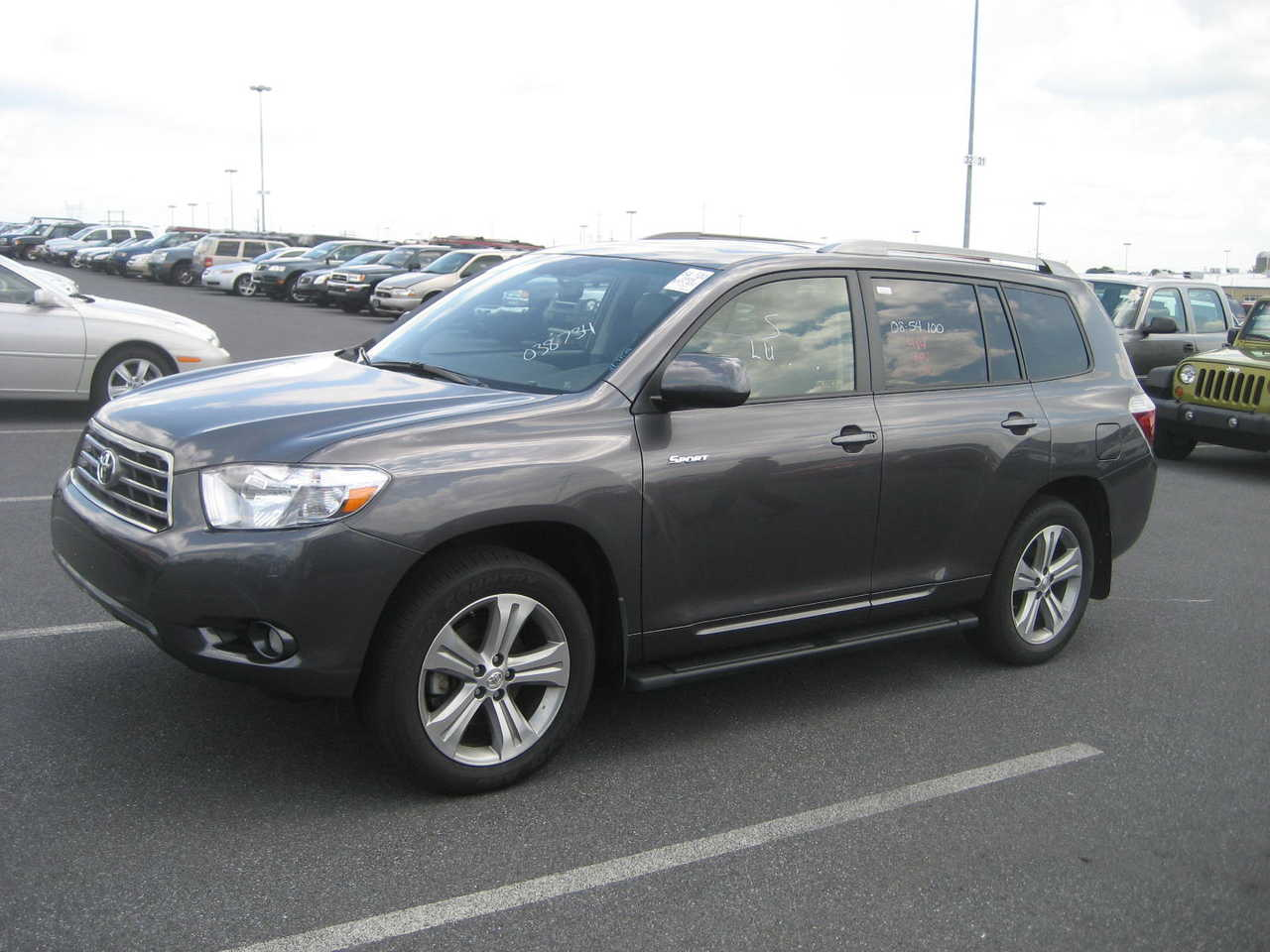 2007 toyota highlander photos 3 5 gasoline automatic for sale. Black Bedroom Furniture Sets. Home Design Ideas